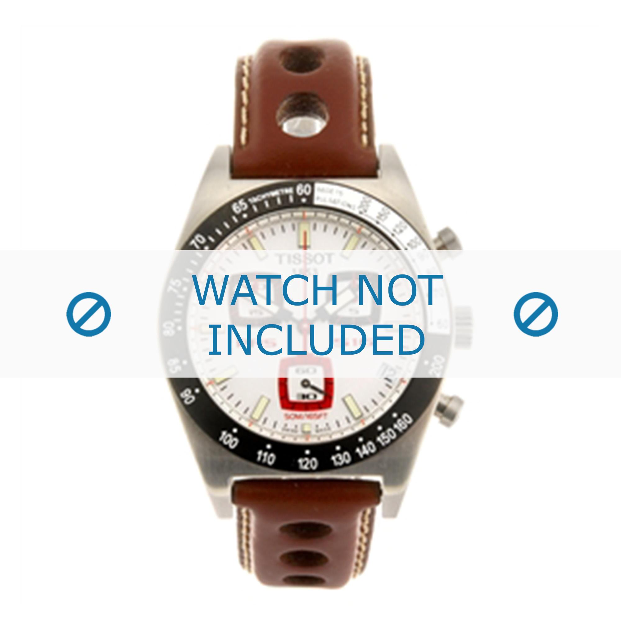 Tissot horlogeband J562-662 - T610014547 Leder Bruin 20mm