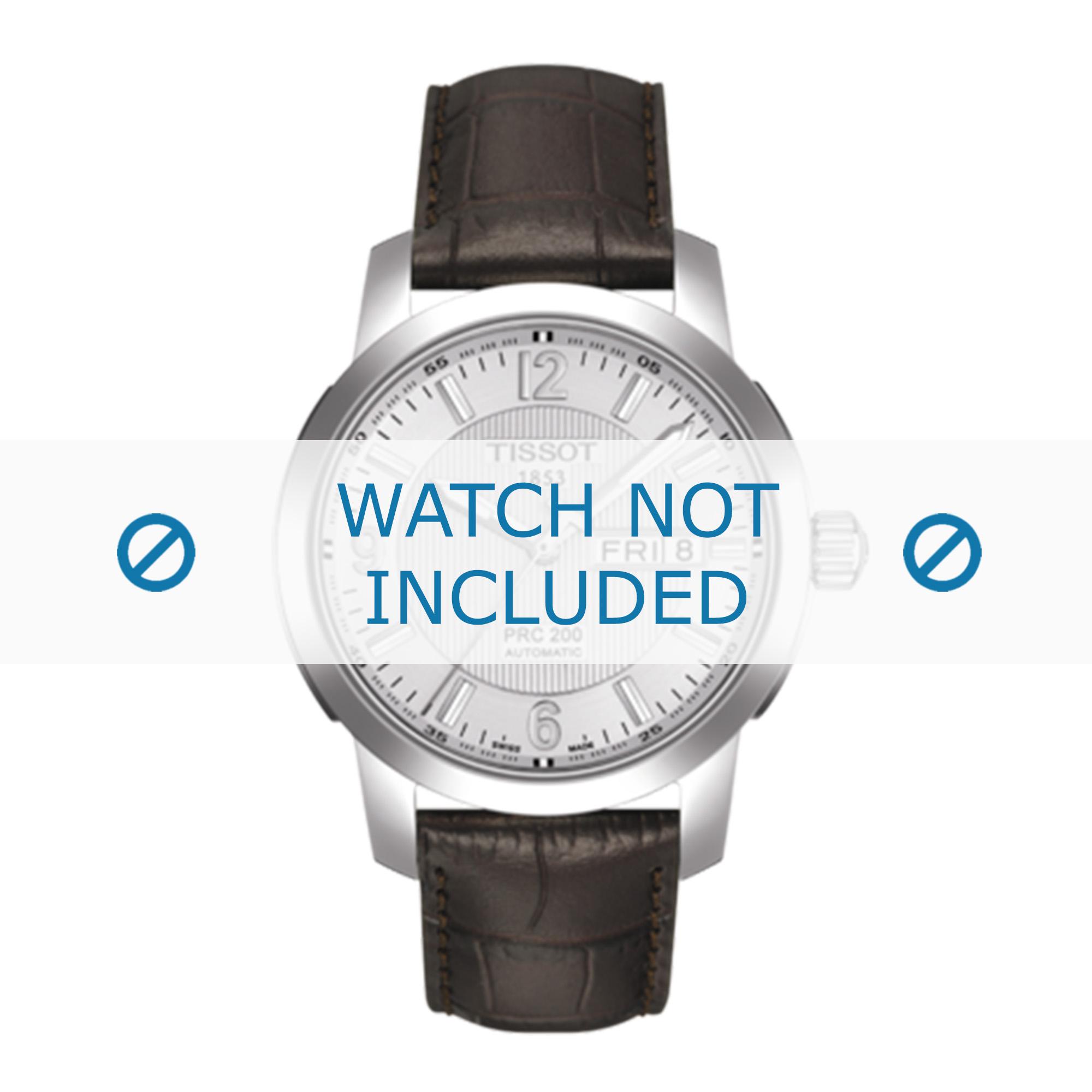 Tissot horlogeband T014.430.A T610014561 Leder Bruin