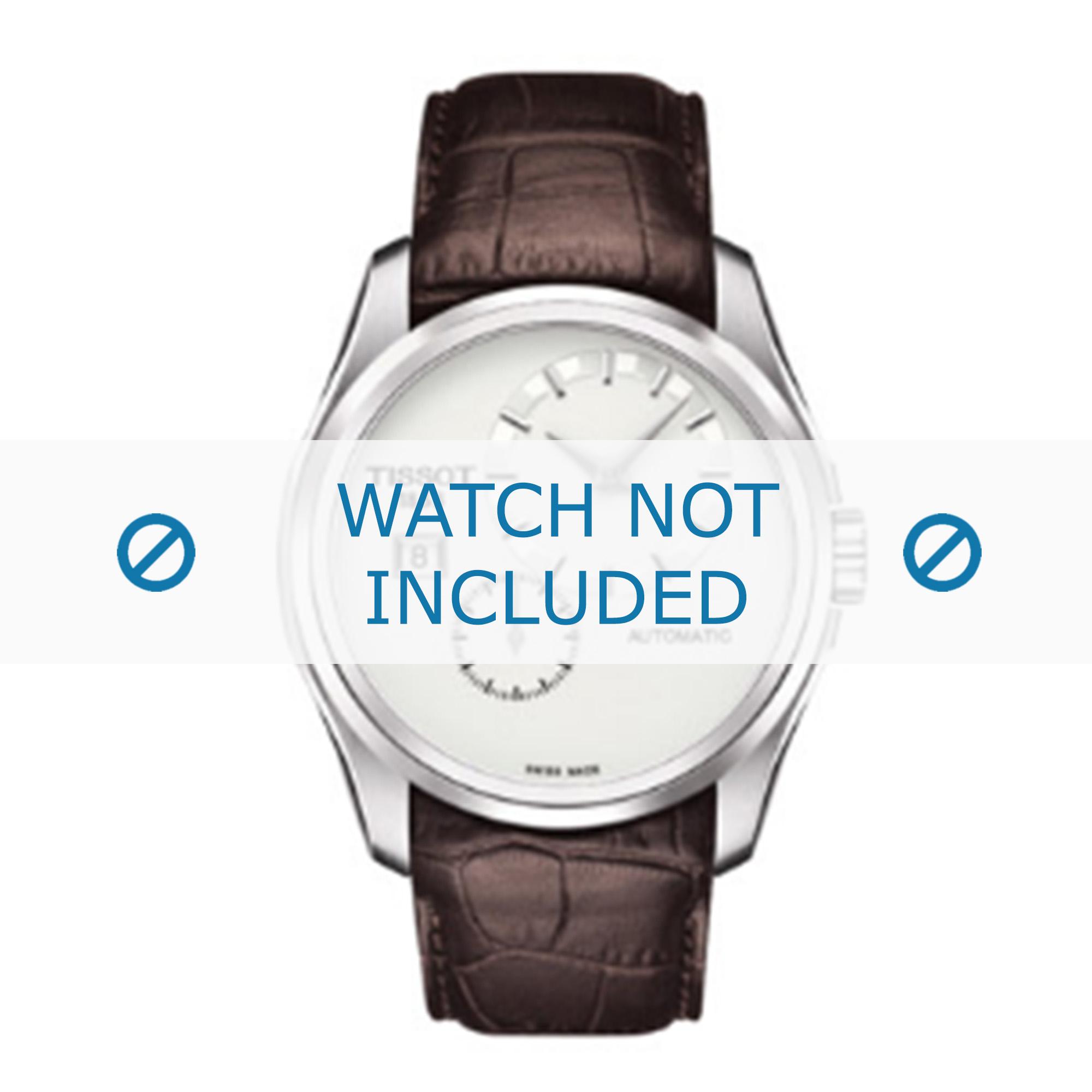 Tissot horlogeband T610028596 Leder Bruin 22mm