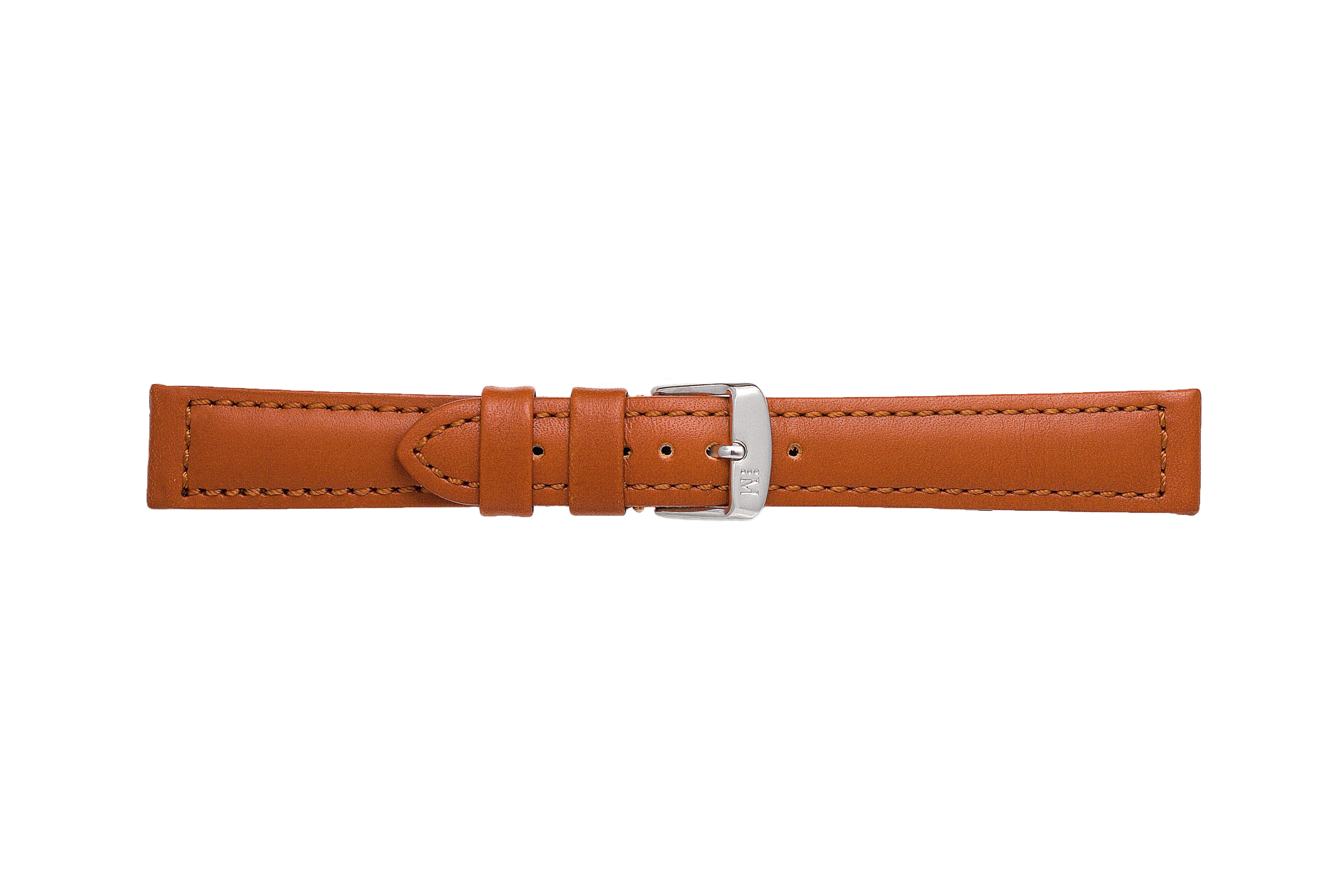 Morellato horlogeband Botero U2226364041CR22 / PMU041BOTERL22 Glad leder Bruin 22mm + standaard stiksel