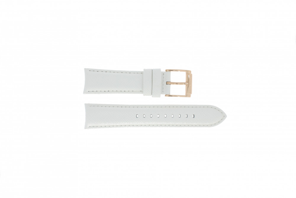 83c8ae80552 Horlogeband Michael Kors MK2289 Leder Wit 22mm