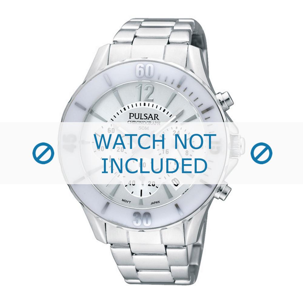 8c103813bd7 Pulsar horlogeband PT3173X1 / VD53 X057 Staal Zilver - Bestel nu bij ...