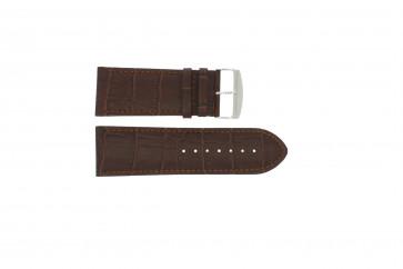 Horlogeband Universeel 305.02 Leder Bruin 24mm