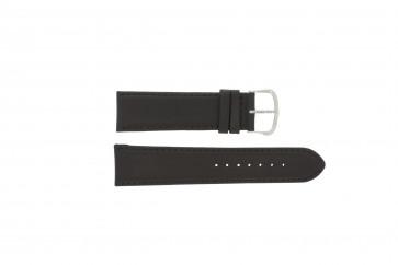 Horlogeband WoW E.5316 Leder Donkerbruin 22mm