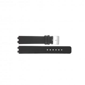 Danish Design horlogeband IV12Q523 / IV13Q523 Leder Zwart 12mm