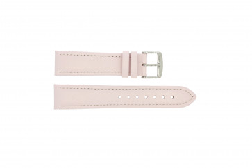 Echt leder roze 18mm 283