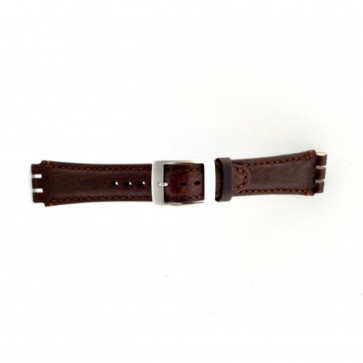 Band passend aan Swatch bruin 19mm PVK-SC14.02