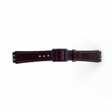 Band passend aan Swatch bruin 17mm PVK-SC04.02