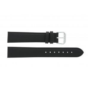 Horlogeband Condor 054L.01 XL Leder Zwart 14mm
