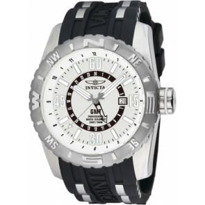 Horlogeband Invicta 10681.01 Rubber Zwart