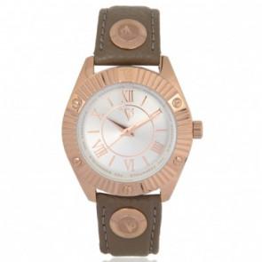 TOV Essentials horlogeband 1462 / TOV Leder Taupe 18mm + standaard stiksel