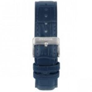 Horlogeband Prisma 1601 Leder Blauw 21mm