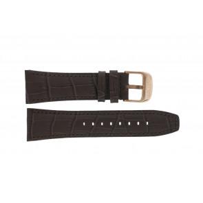 Lotus horlogeband 18015 Leder Bruin 26mm + bruin stiksel
