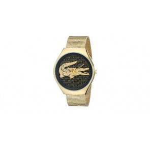 Lacoste horlogeband 2000873 / LC-71-3-34-2470 Staal Doublé 18mm