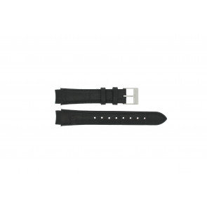 Prisma horlogeband 33 832 117 Leder Zwart 14mm + zwart stiksel