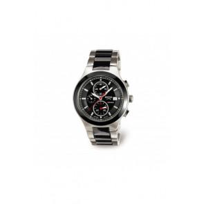 Horlogeband Boccia 3764-01 Staal Staal