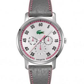 Horlogeband Lacoste 2000595 / LC-41-3-14-2230 Leder Paars 20mm