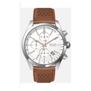 Horlogeband Hugo Boss HB-297-1-14-2955 / 659302763 Leder Cognac 22mm