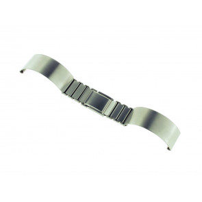 Horlogeband Spange 16ST Staal Zilver 16mm