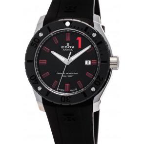 Horlogeband Edox 80088 Rubber Zwart