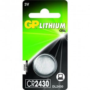 Knoopcel batterij GP CR2430