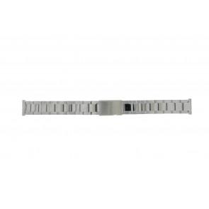 Morellato horlogeband BE22.0486 Staal Zilver 16mm