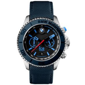 Horlogeband Ice Watch BM.BLB.B.L.14 Canvas Blauw 21mm