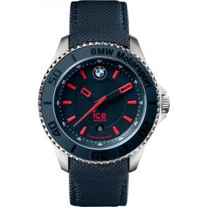 Horlogeband Ice Watch BM.BRD.U.L.14 Leder/Textiel Blauw 20mm
