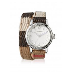 Horlogeband Burberry BU7849 Leder Multicolor