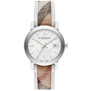 Horlogeband Burberry BU9136 Leder Multicolor