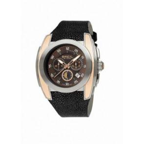 Horlogeband Breil BW0380 Leder Zwart 28mm