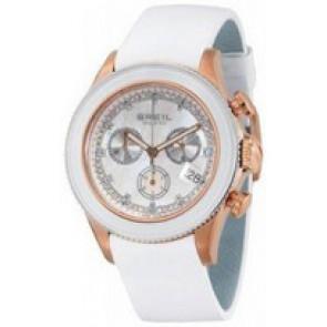 Horlogeband Breil BW0516 Leder Wit
