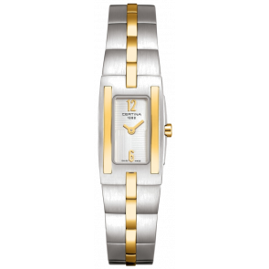 Horlogeband Certina C0021092203200A / C605011453 Staal Bi-Color