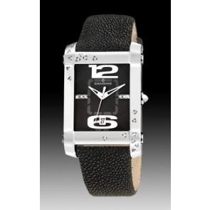 Horlogeband Candino C4299-4 Leder Zwart 20mm