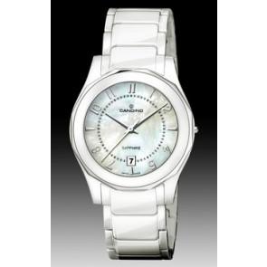 Horlogeband Candino C4352-2 Keramiek Wit