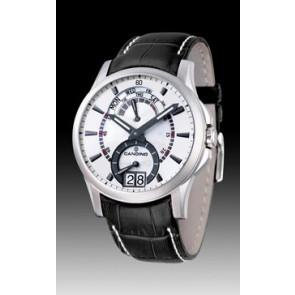 Horlogeband Candino C4387/2 Leder Zwart