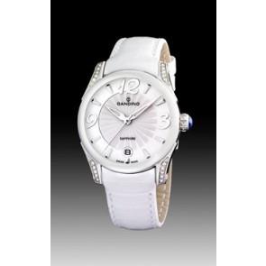 Horlogeband Candino C4419-1 Leder Wit