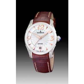 Horlogeband Candino C4419-2 Leder Bruin
