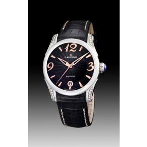 Horlogeband Candino C4419-3 Leder Zwart