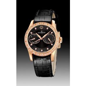 Horlogeband Candino C4448-3 Leder Zwart