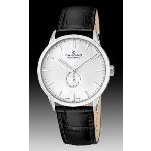 Horlogeband Candino C4470.01 Leder Zwart