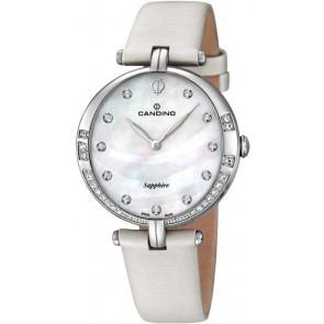 Horlogeband Candino C4601 Leder Wit