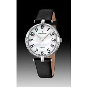 Horlogeband Candino C4601-4 Leder Zwart