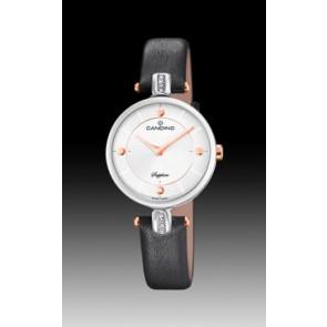 Horlogeband Candino C4658-2 Leder Zwart