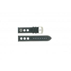 Horlogeband Camel BC50993 Leder Grijs 22mm