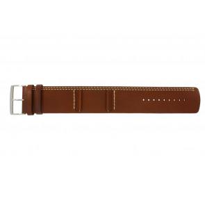 Horlogeband Camel BC51023 Leder Bruin 27mm