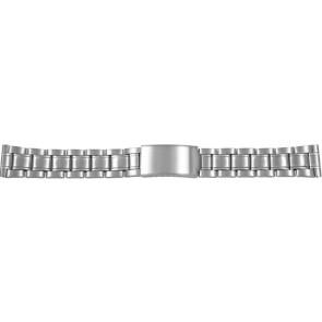 Horlogeband CMA54-26 Staal Zilver 26mm