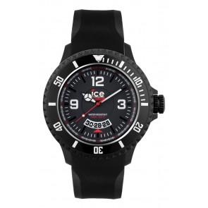 Horlogeband Ice Watch DI.BW.XB.R.11 Kunststof/Plastic Zwart 20mm
