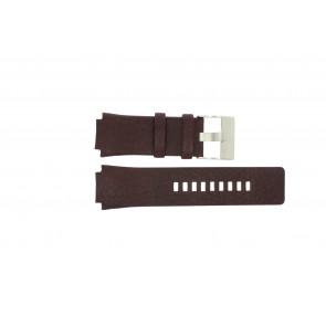 Horlogeband Diesel DZ1111 Leder Bruin 20mm