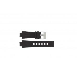 Horlogeband Diesel DZ4128 Leder Donkerbruin 16mm